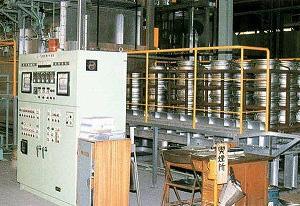 熱処理炉(アルミホイール用)