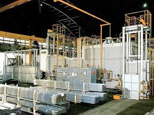 熱処理炉(アルミ建材用)