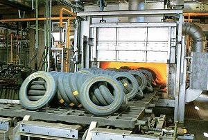 応力・歪取り用熱処理炉
